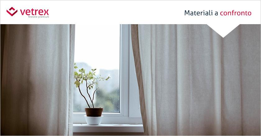 Tipi di finestre: Legno, alluminio e PVC a confronto