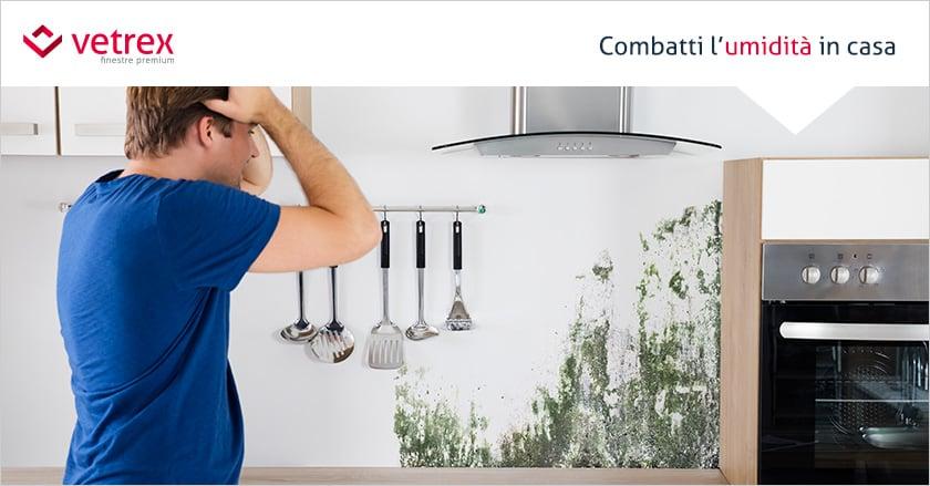 Come eliminare condensa e muffa in cucina